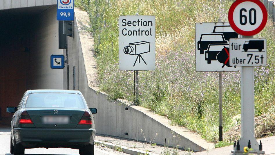 Tunnel in Österreich (Symbolbild): Das deutsche Nachbarland schnitt im Test vergleichsweise gut ab