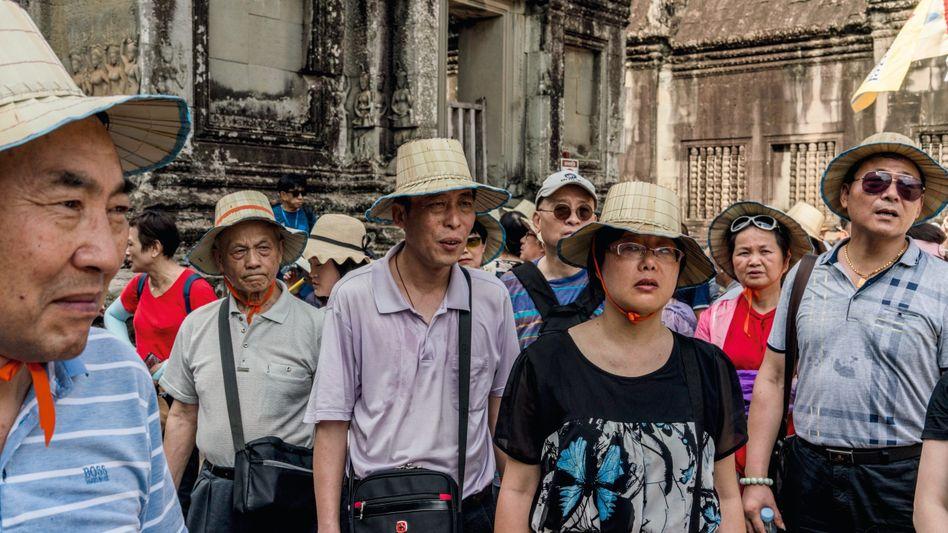 Touristen in Angkor Wat: »Wir staunen, wie arm es hier ist«