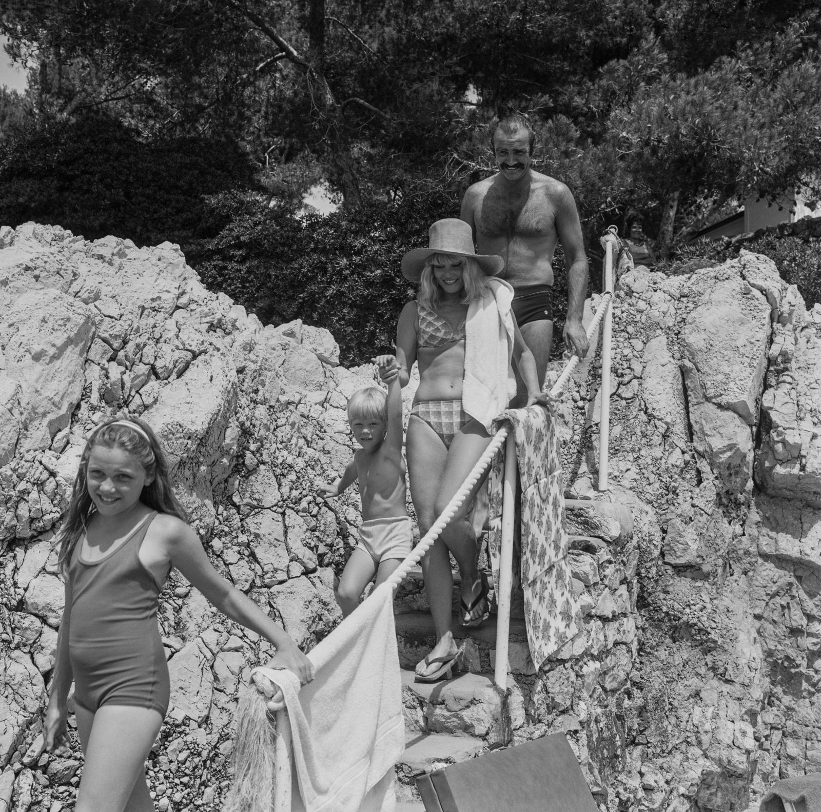 Famille 'James Bond' en vacances