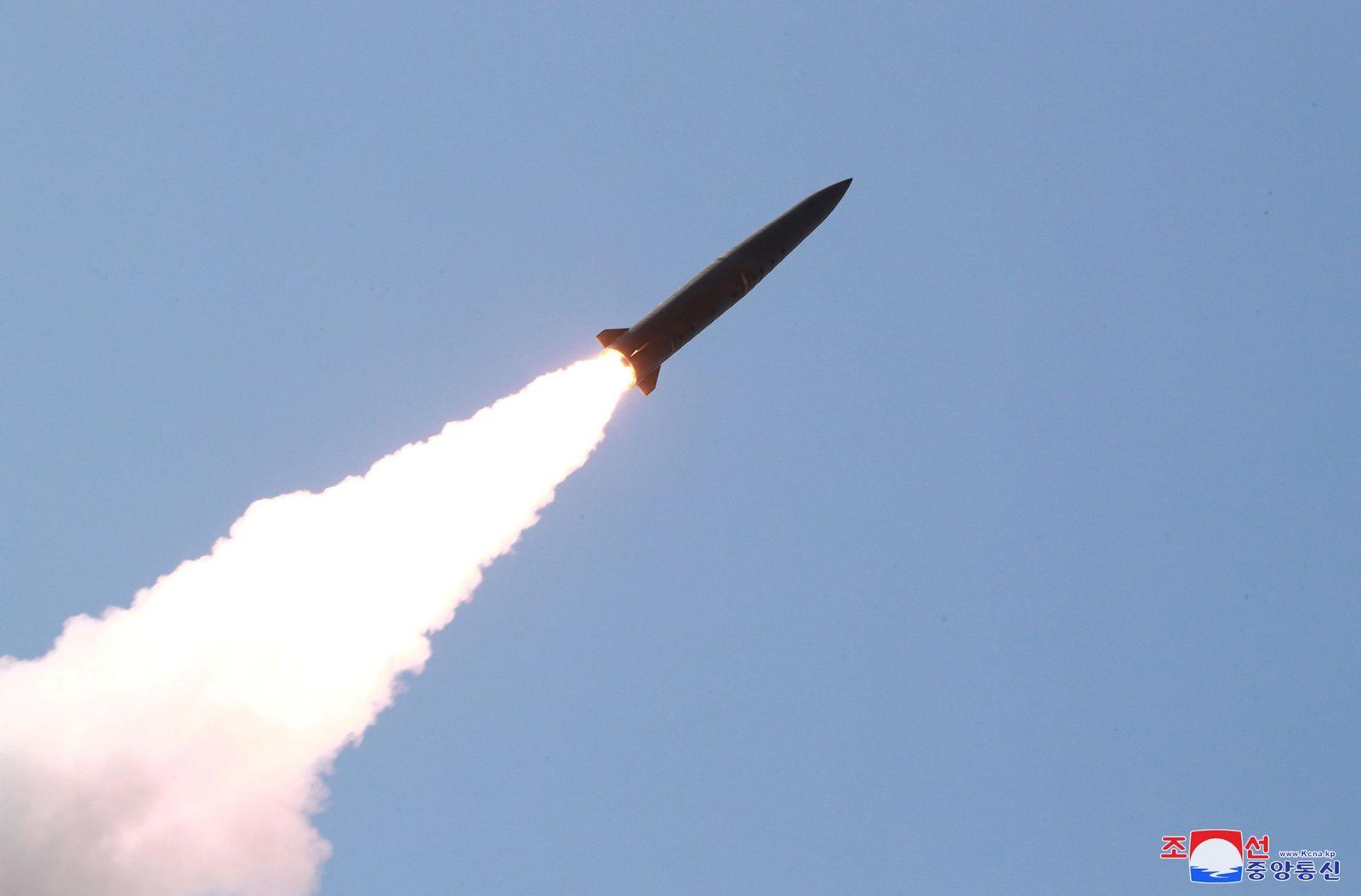 Nord Korea Rakete Symbolbild