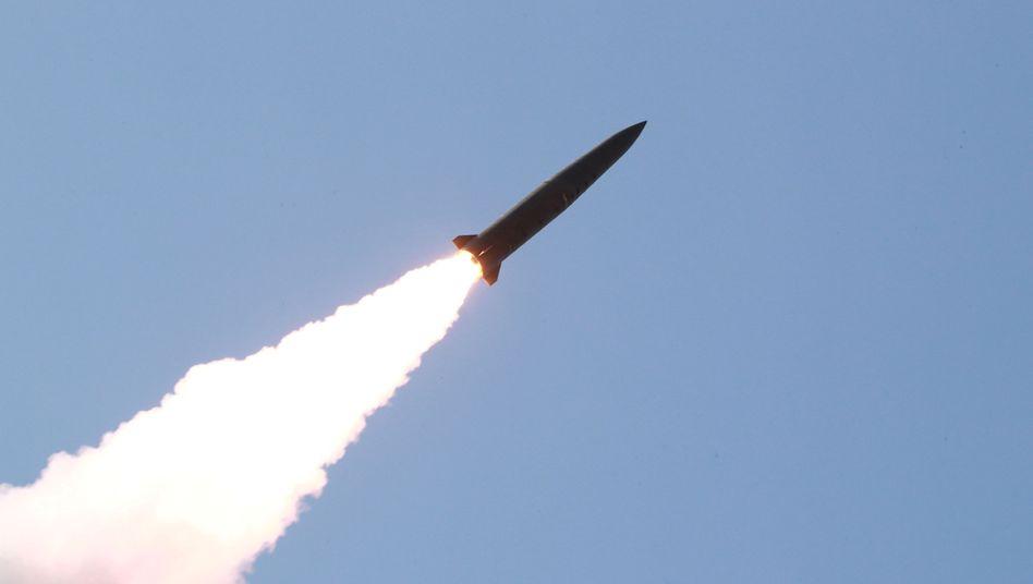 Im Oktober testete Nordkorea zuletzt den Abschuss zweier Raketen
