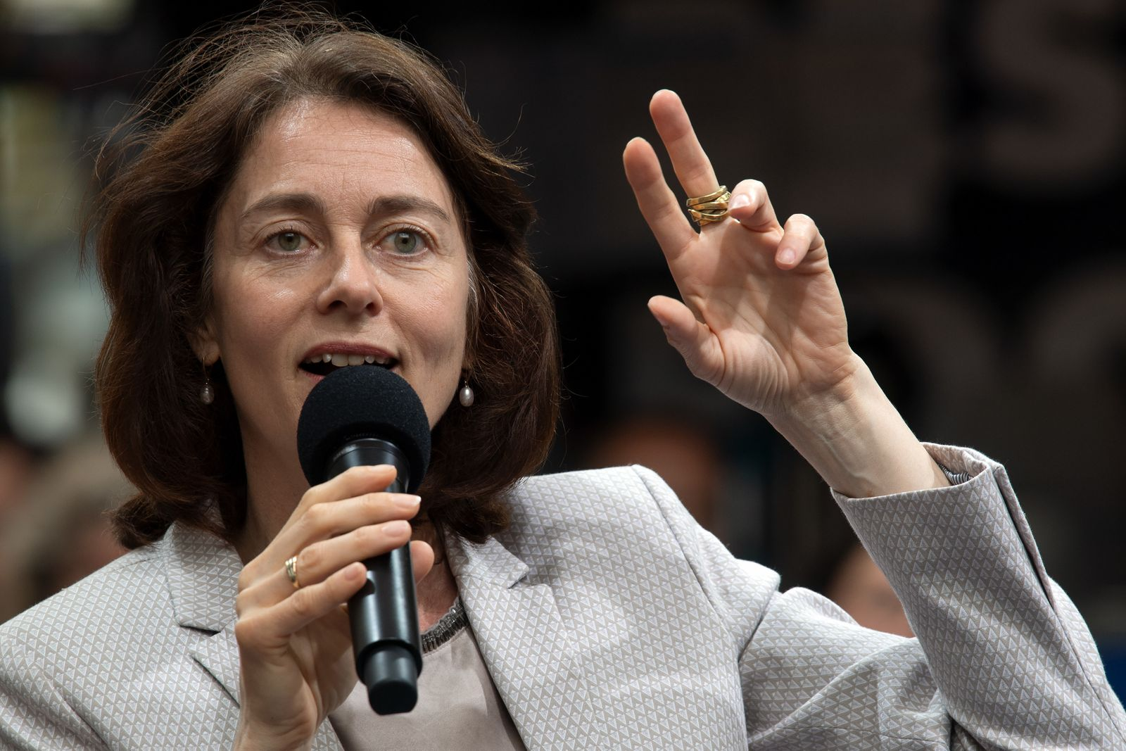 SPD-Europawahlkampf mit Katarina Barley