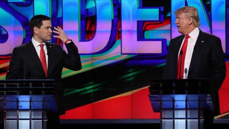Marco Rubio und Donald Trump (Archiv)