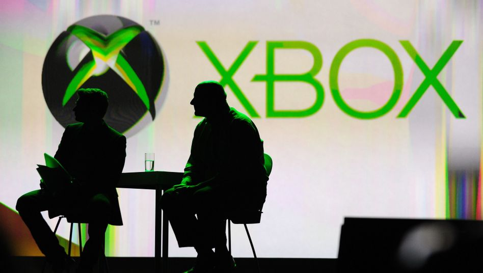 Xbox-Logo auf der Elektronikmesse CES in Las Vegas