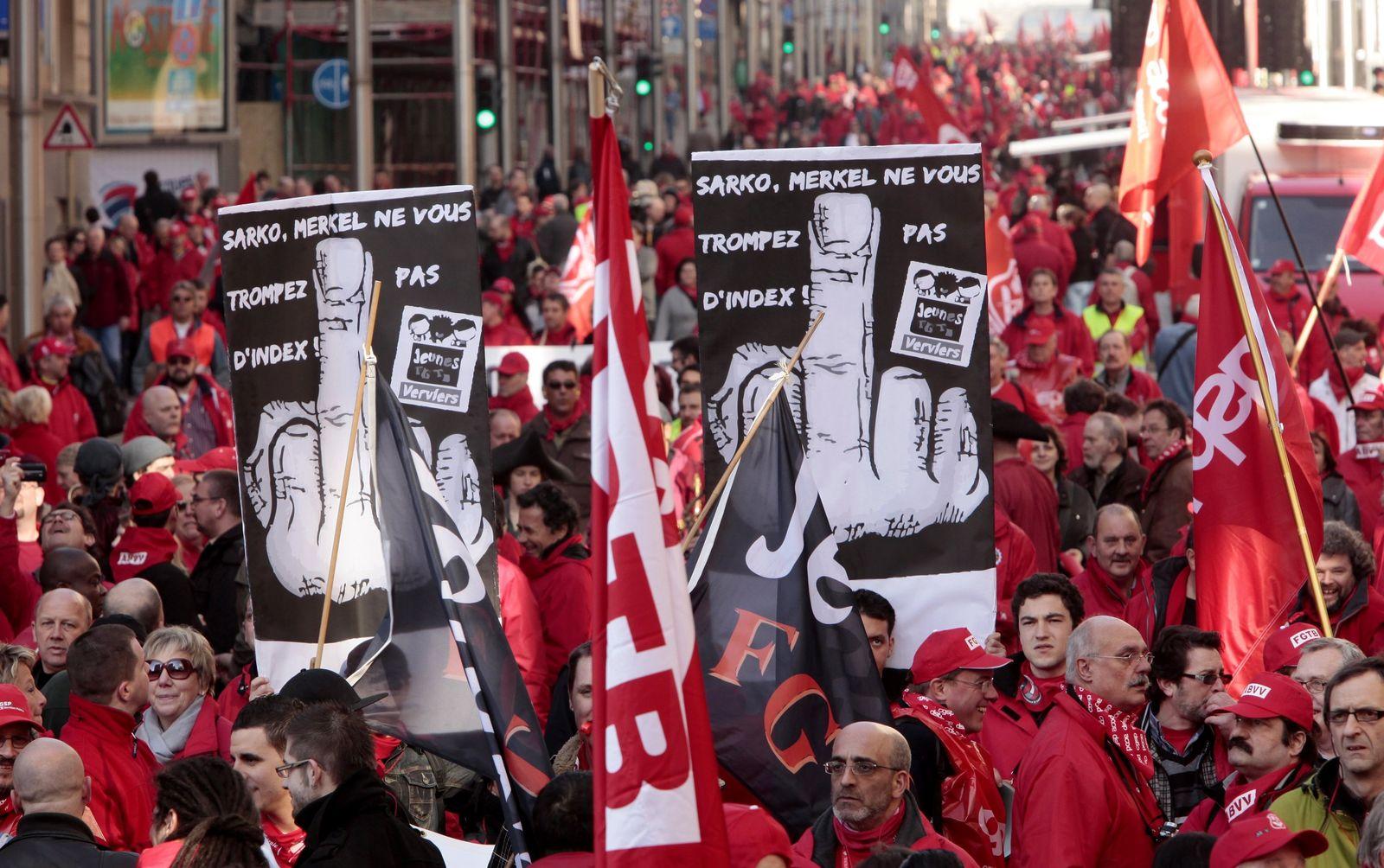 Brussels rally eu