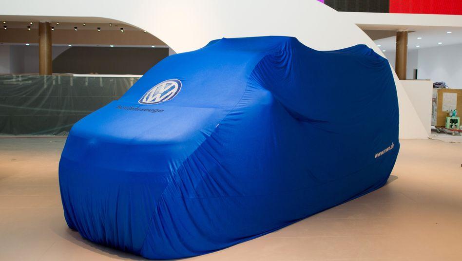 Verhülltes Volkswagen-Modell: Marketing-Coup der Strategen in Wolfsburg