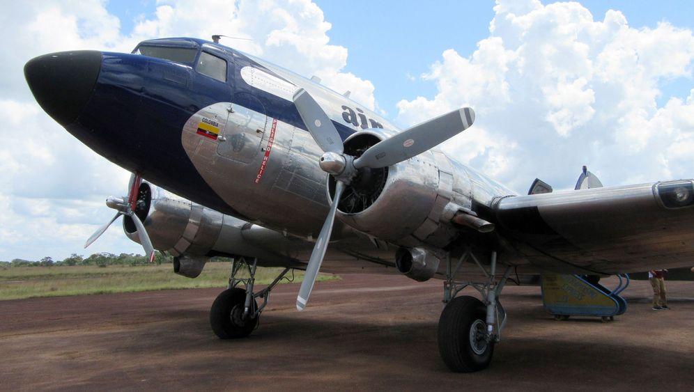 DC-3 in Kolumbien: Mit Oldtimern in den Dschungel