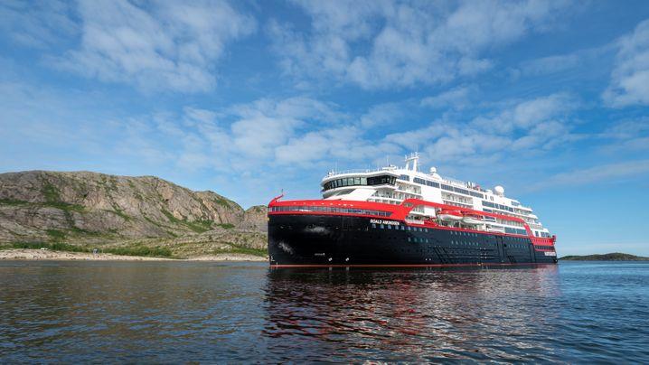 """Hurtigruten-Neubau: So sieht die """"Roald Amundsen"""" aus"""