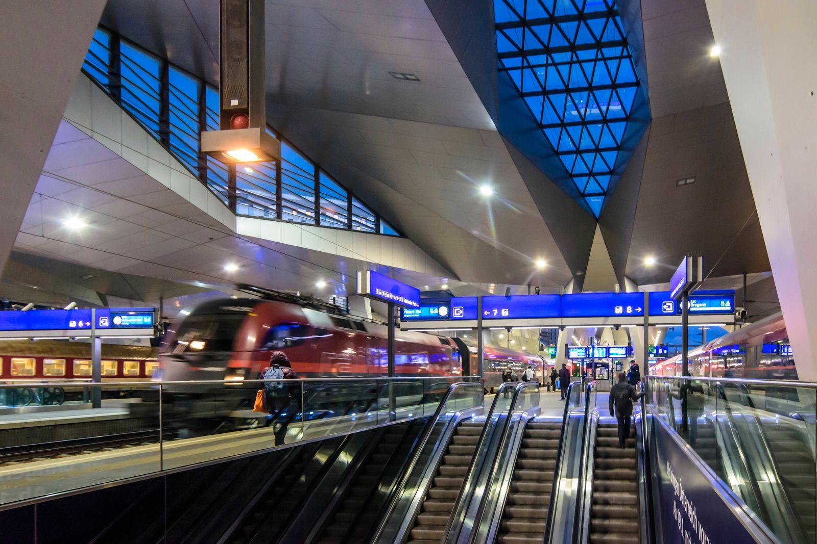Wien Hauptbahnhof 28.02.2020