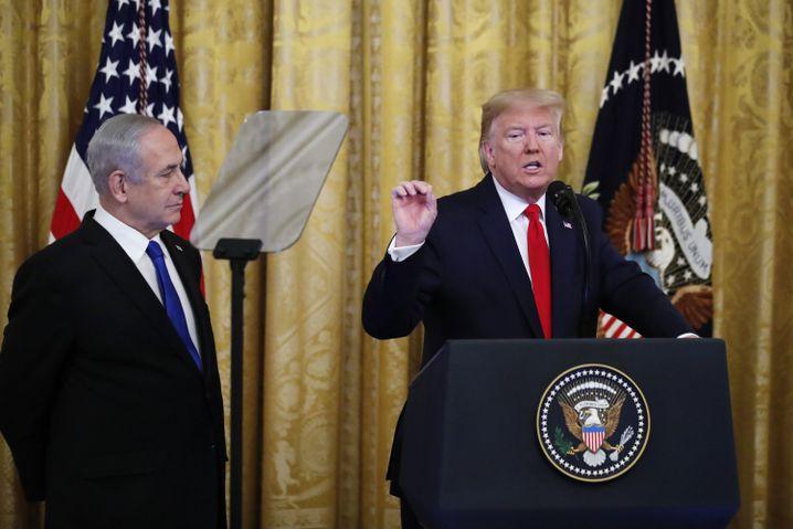 "Benjamin Netanyahu und Donald Trump: ""Deal des Jahrhunderts""?"