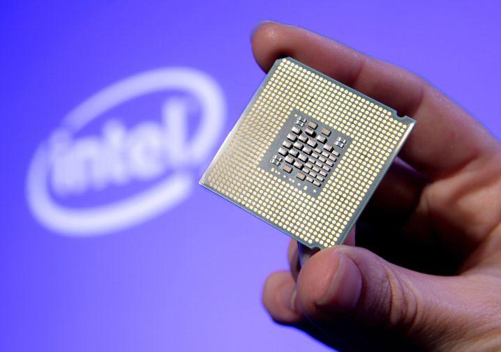 Xeon-Prozessor von Intel: Dieses Modell ist nicht betroffen, dafür ist es zu alt.