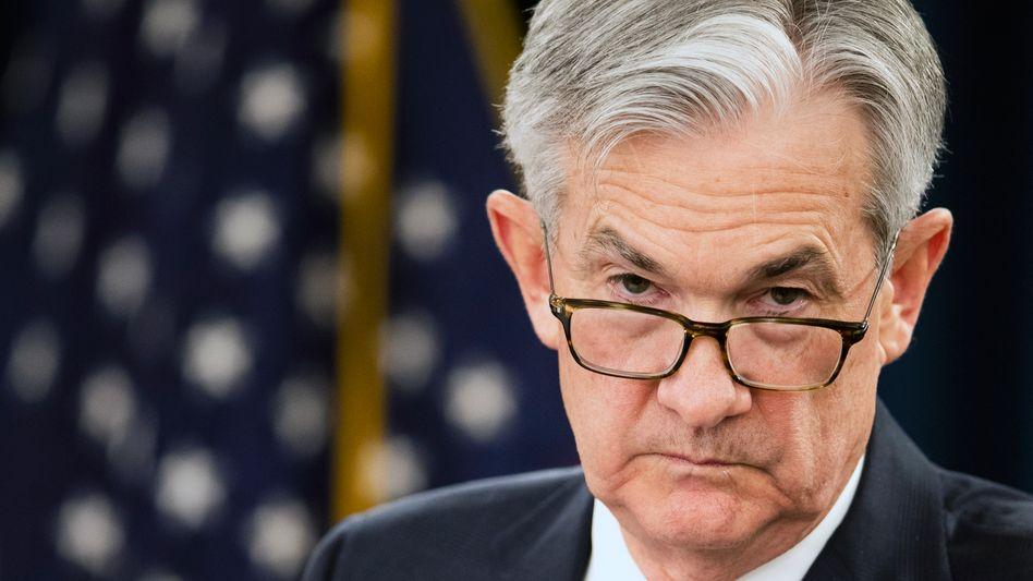 US-Notenbankchef Jerome Powell: »Wenn er nichts sagt, wird das die Märkte bewegen. Wenn er viel sagt, wird das die Märkte bewegen«