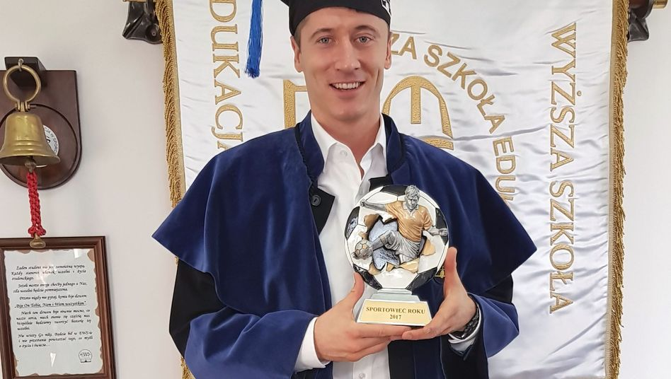 Absolvent Robert Lewandowski