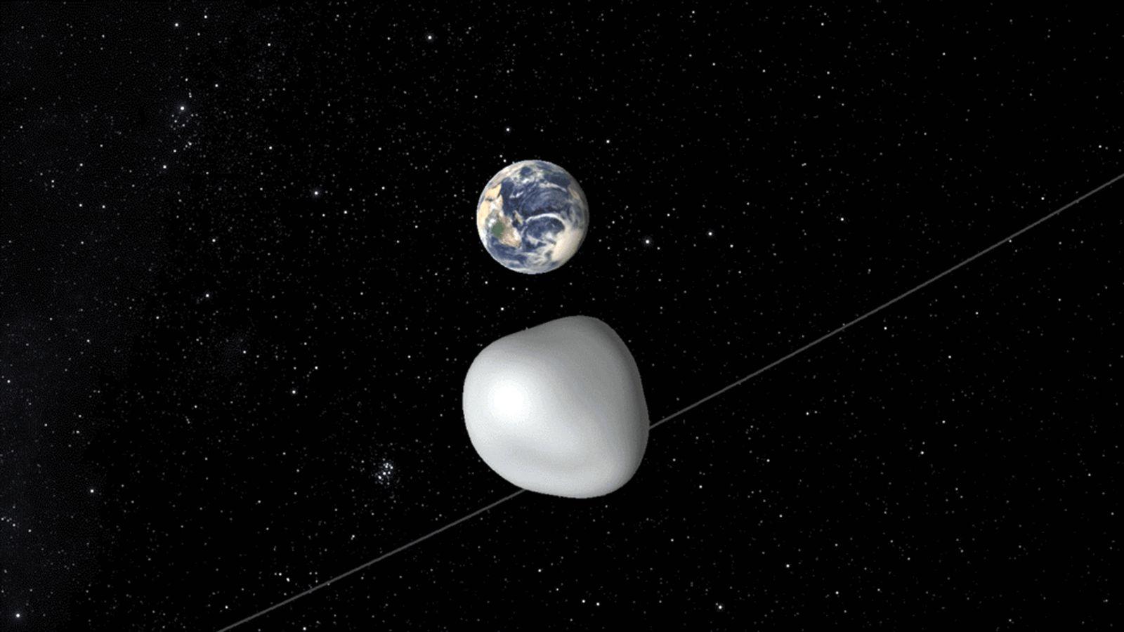 Asteroid/ Erde
