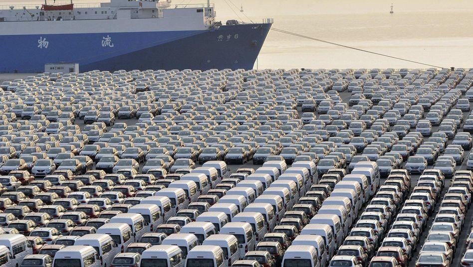Hafen von Dalian: Fahrstrecke nach Yantai rund tausend Kilometer kürzer