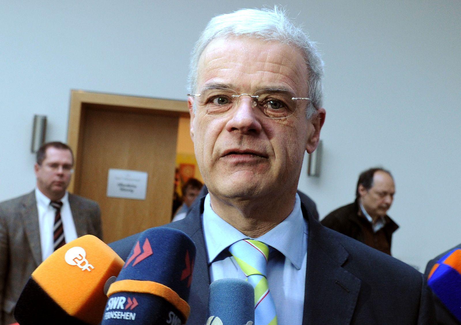 NICHT VERWENDEN Wahlkampf Rheinland-Pfalz / Christoph Böhr