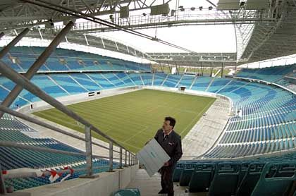 Neubau des Zentralstadions Leipzig: Förderungsmittel auf dem Prüfstand