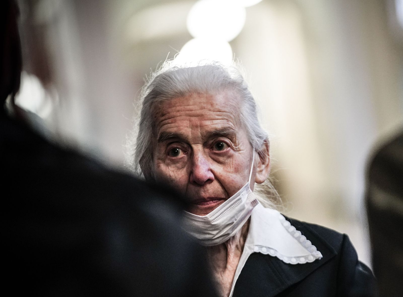 Trial against The Holocaust denier Ursula Haverbeck, Berlin, Germany - 17 Nov 2020