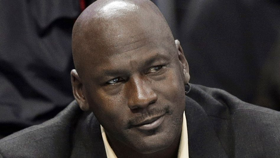 Basketballlegende Michael Jordan