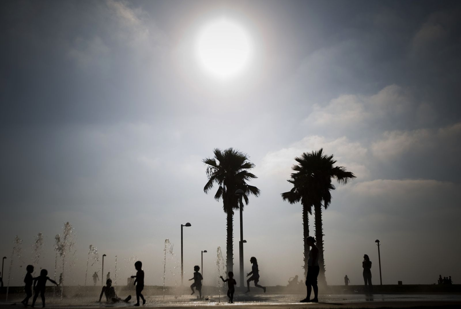 Israel / Tel Aviv / Hitze