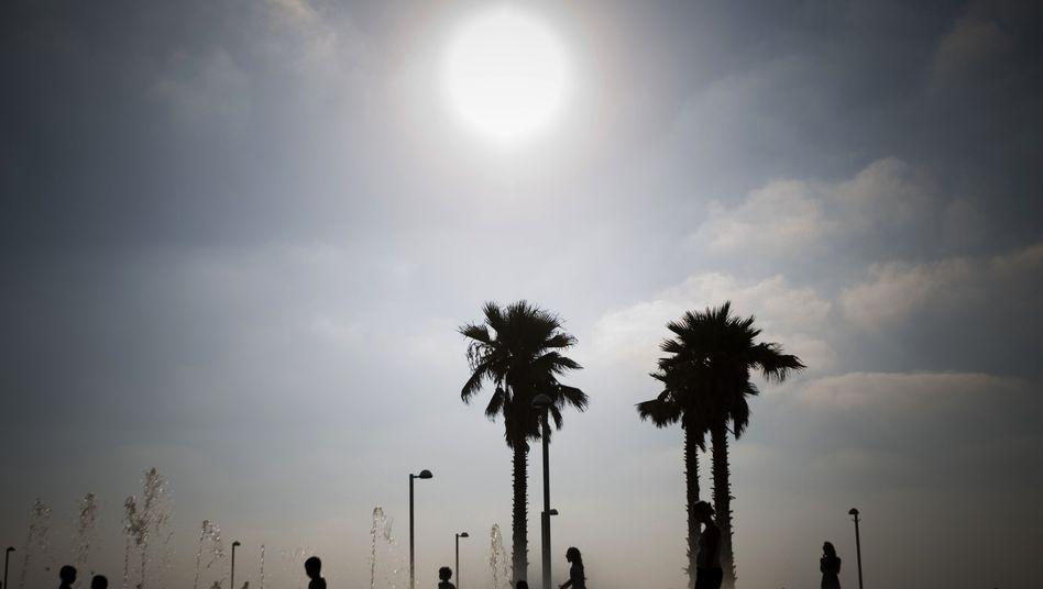 Hitze in Tel Aviv: Global war es so warm wie seit Beginn der Aufzeichnungen nicht