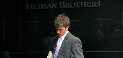 Banker von Lehman Brothers: Plötzlich ist überall von Vertrauen die Rede