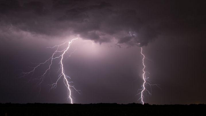 Wetter: Unwetter in NRW und Niedersachsen