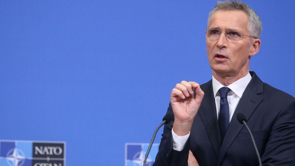 """Nato-Generalsekretär Jens Stoltenberg: """"Letzte Chance"""""""