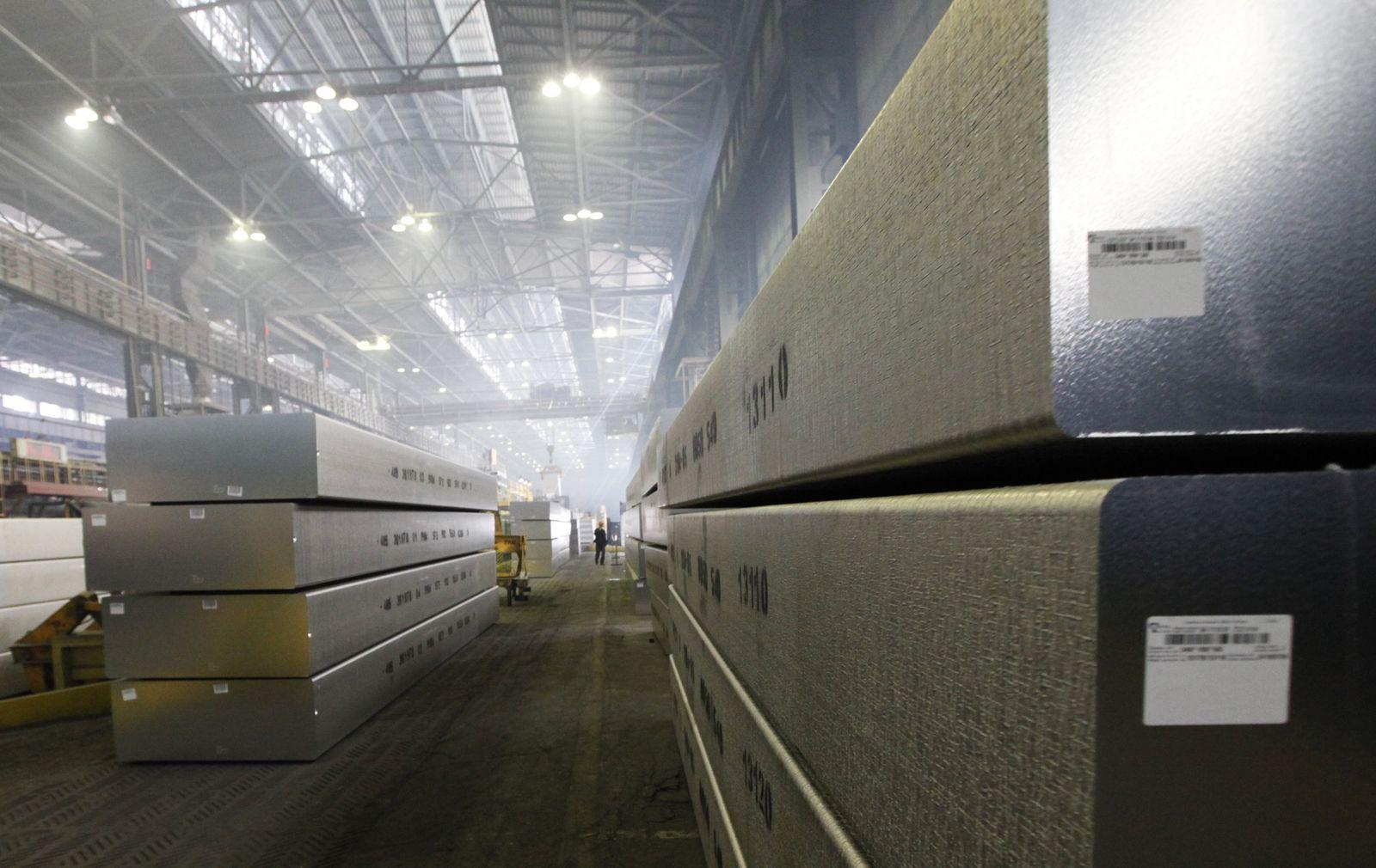 Aluminium-Barren in Russland