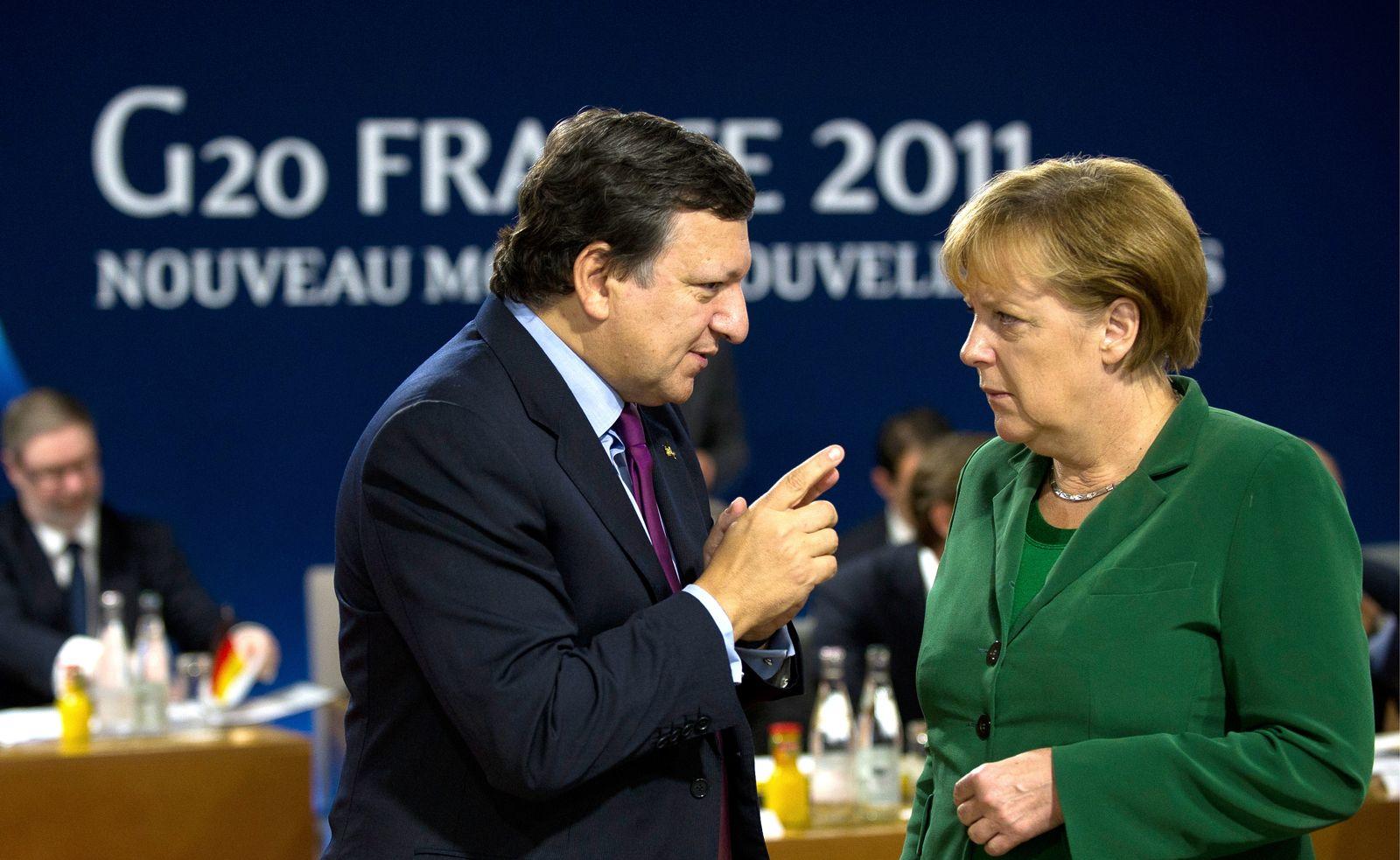 NICHT VERWENDEN Barroso/ Merkel