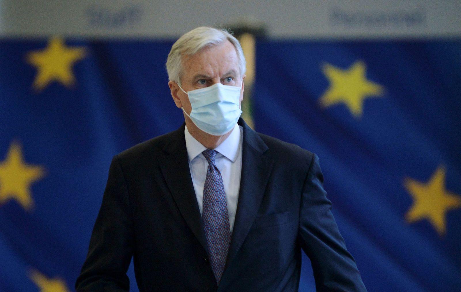 EU chief Brexit negotiator Michel Barnier leaves EU Commission after Brexit negotiations