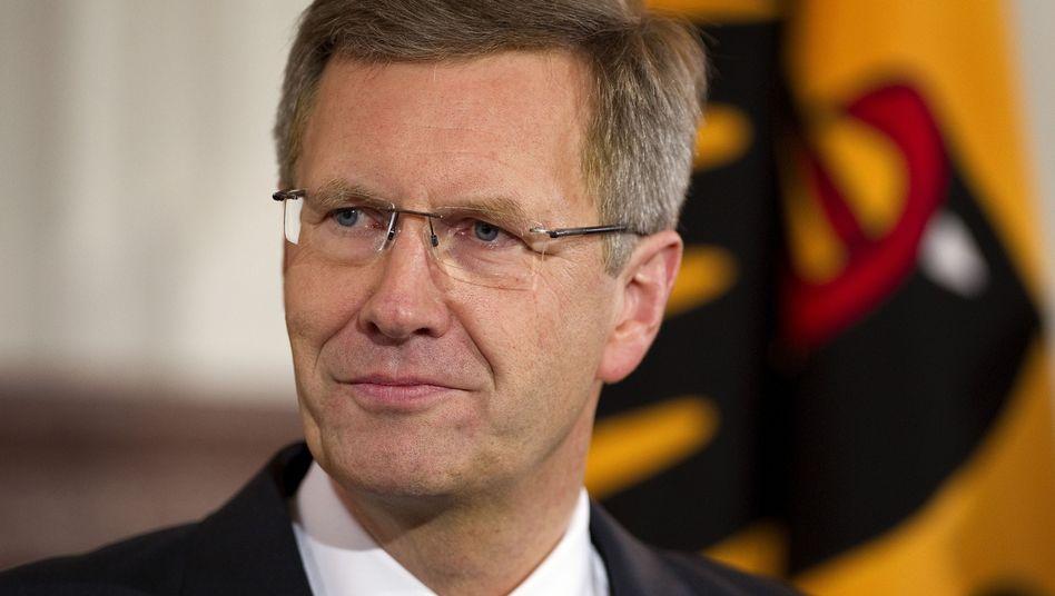 Christian Wulff im Januar in Schloss Bellevue: Ruhegeld oder neue Berufstätigkeit?