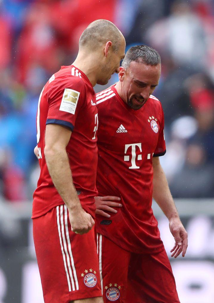Einst die gefürchtetste Flügelzange Europas: Arjen Robben und Franck Ribéry