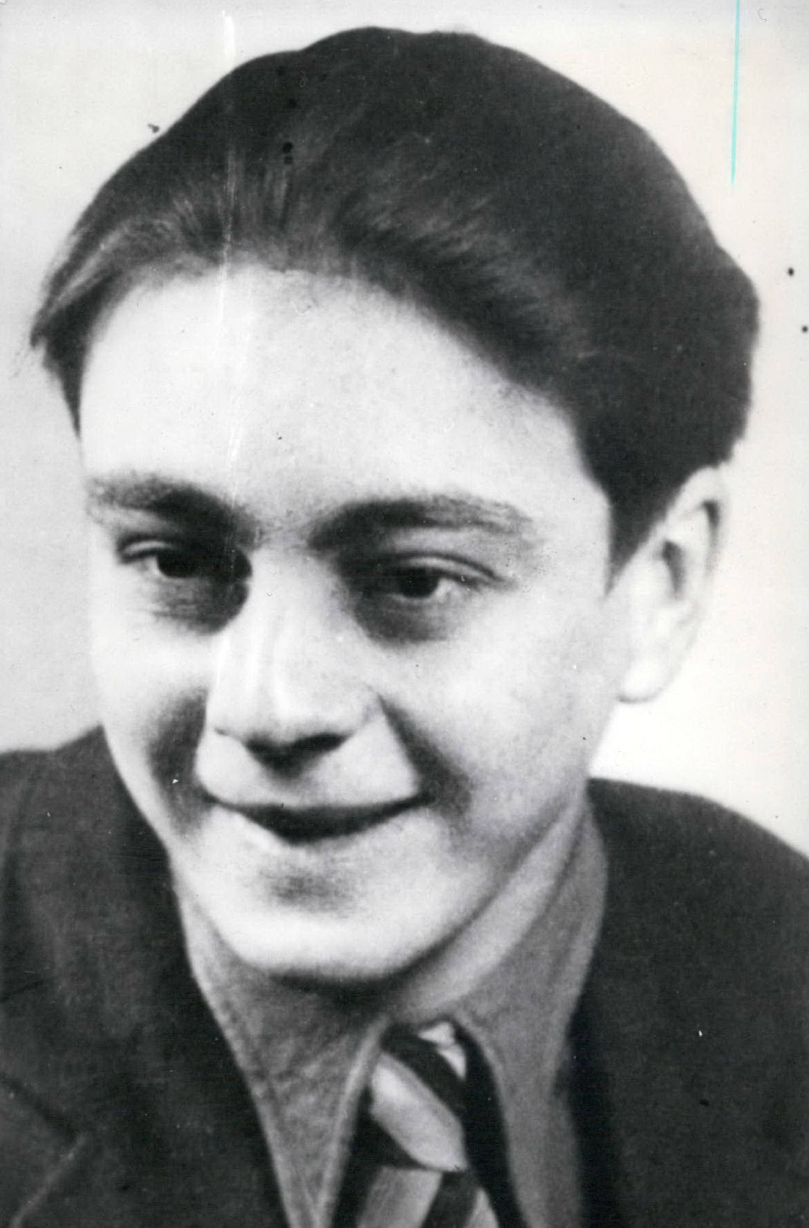 Dec 12 1960 Free after ten years of convict prison Hermann Josef Flade former school boy in