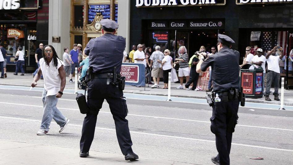 Späteres Opfer Kennedy, Polizisten in New York