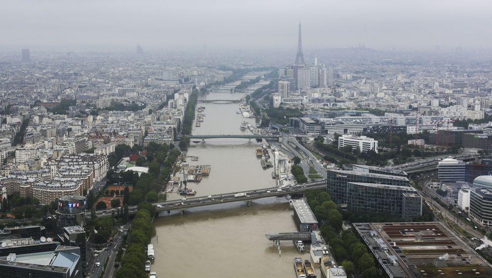 Hochwasser: Land unter in Paris