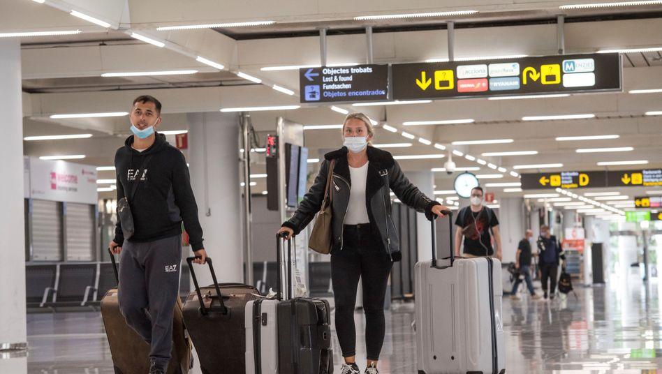 Flughafen Palma de Mallorca: Noch ist das Flugangebot gering