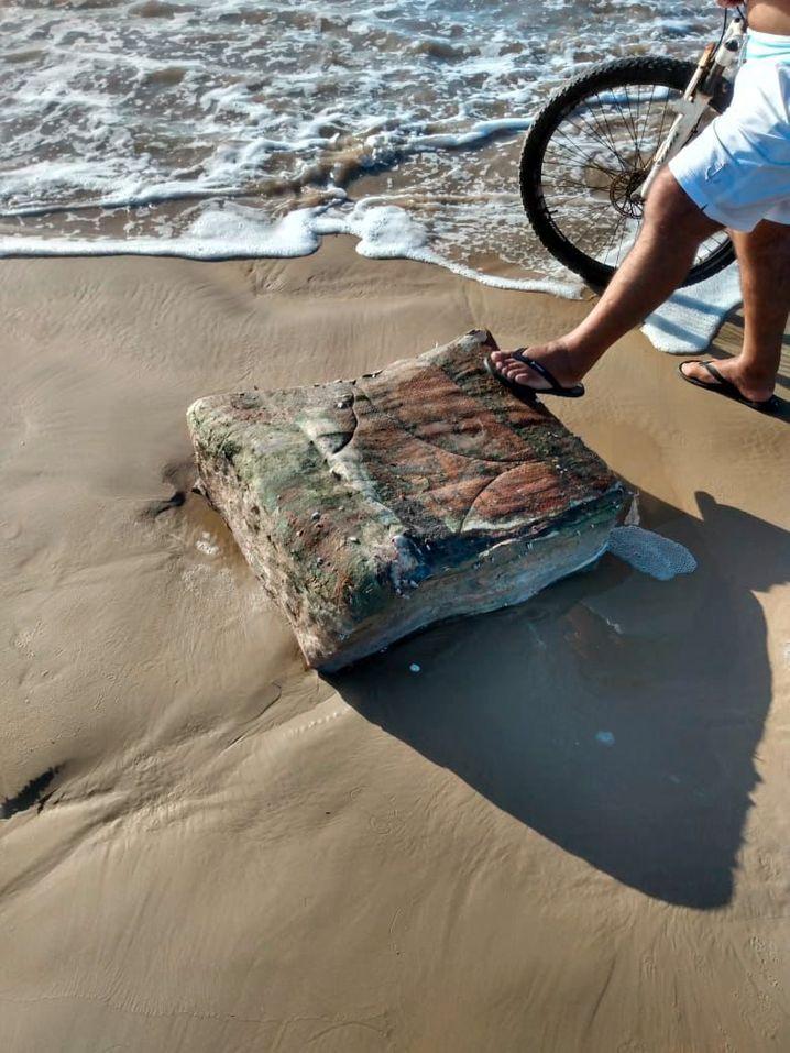 Lag jahrzehntelang im Meer: Strandgut aus der untergegangenen »Rio Grande«