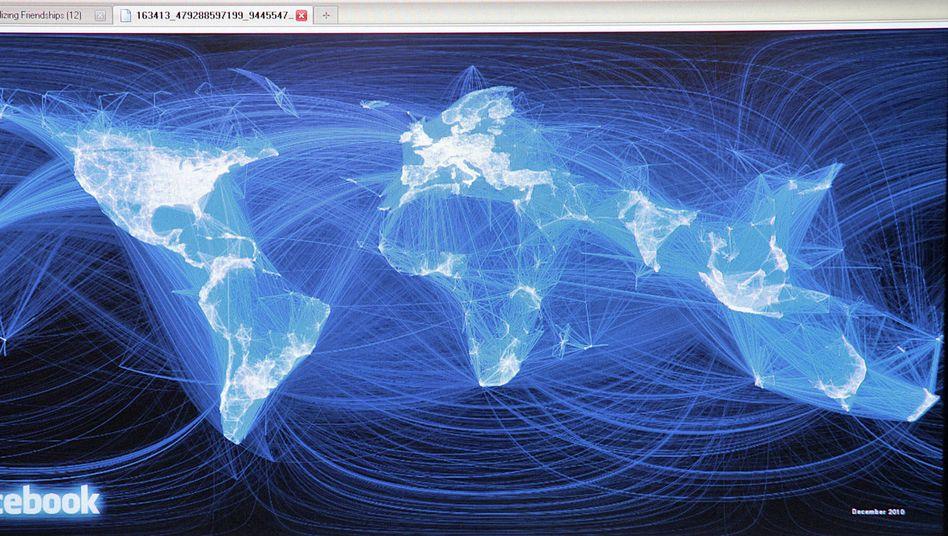 Facebook-Kontakte weltweit: Mitglieder sehen eine gefilterte Version ihres sozialen Umfelds