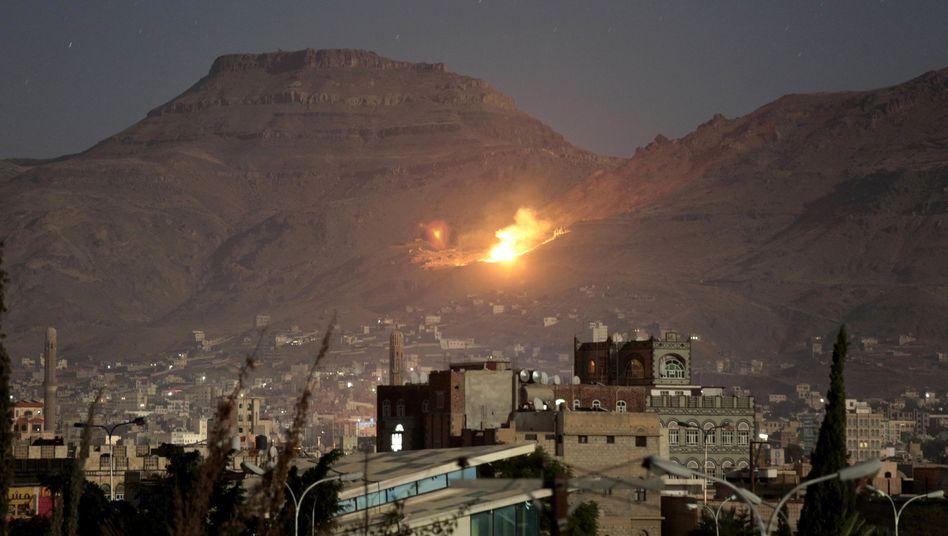 Angriff bei Sanaa