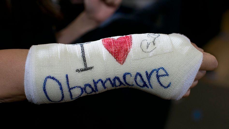 Obamacare-Anhänger