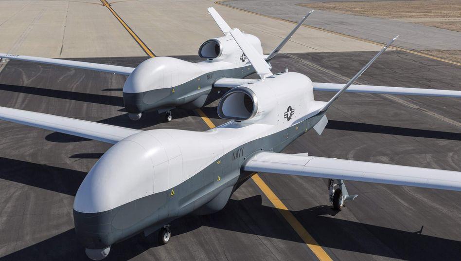 """US-Drohne """"Triton"""": Teurer Ersatz für die """"Euro Hawk"""""""