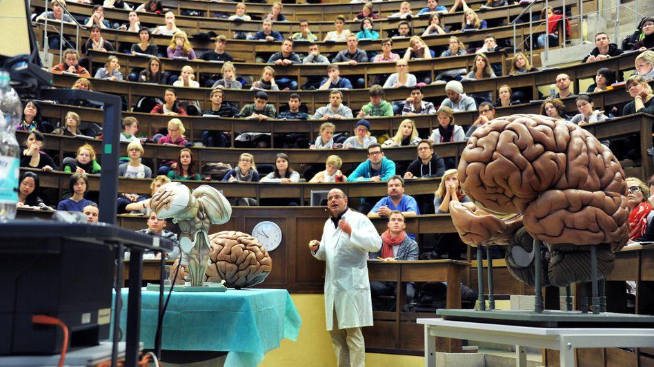 Medizinvorlesung in Leipzig