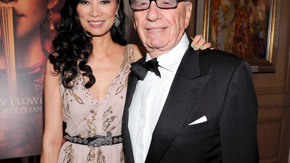 Ehepaar Wendi und Rupert Murdoch: Sugar Daddy mit Schmetter-Schwester