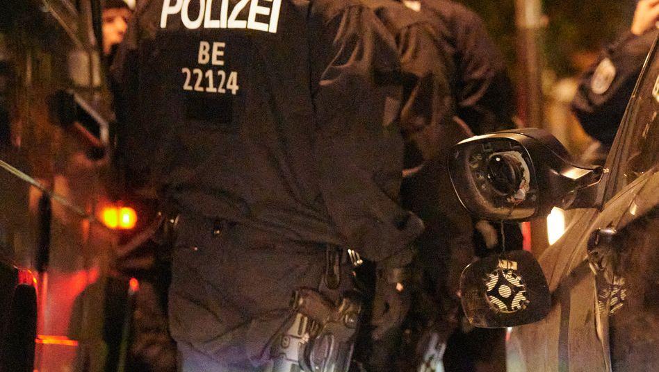 Berliner Polizei im Einsatz