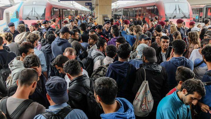 Flüchtlinge aus Ungarn: Ein Foto von Angela Merkel im Gepäck