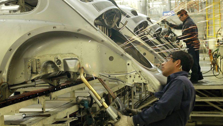 Volkswagen-Werk im mexikanischen Puebla