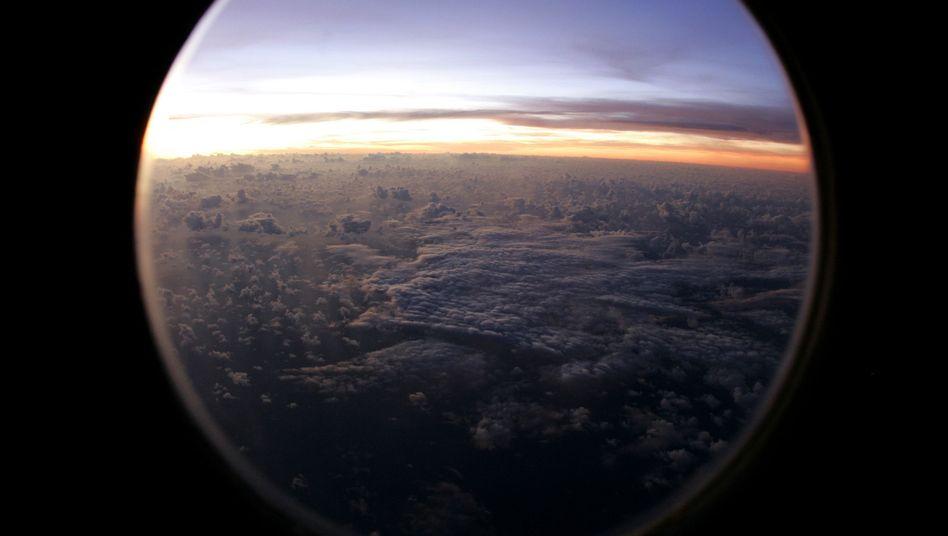 """Blick aus einem Flugzeug: """"Die wäre weitergeflogen, bis der Sprit ausgegangen wäre"""""""