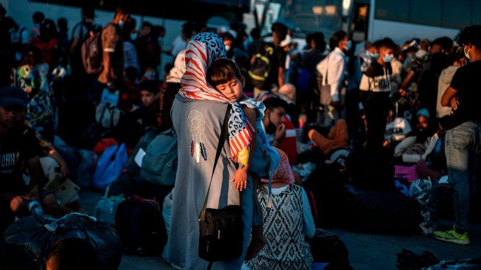 """Flüchtlinge in Griechenland: """"Was sind wir bereit zu tun, um Migranten aufzuhalten?"""""""