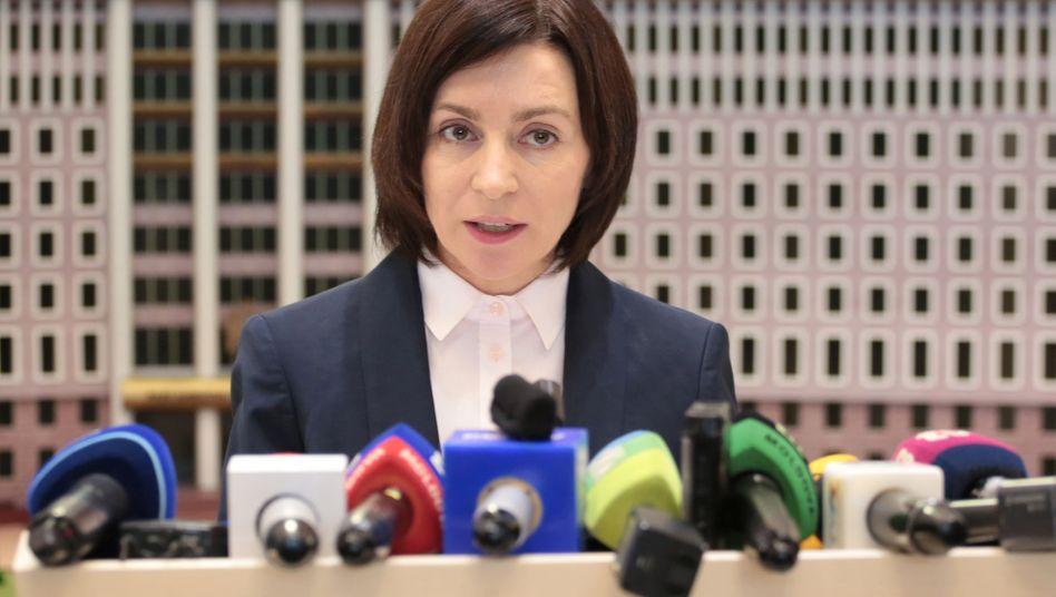 Maia Sandu: Am 11. Juli soll das Parlament neu gewählt werden